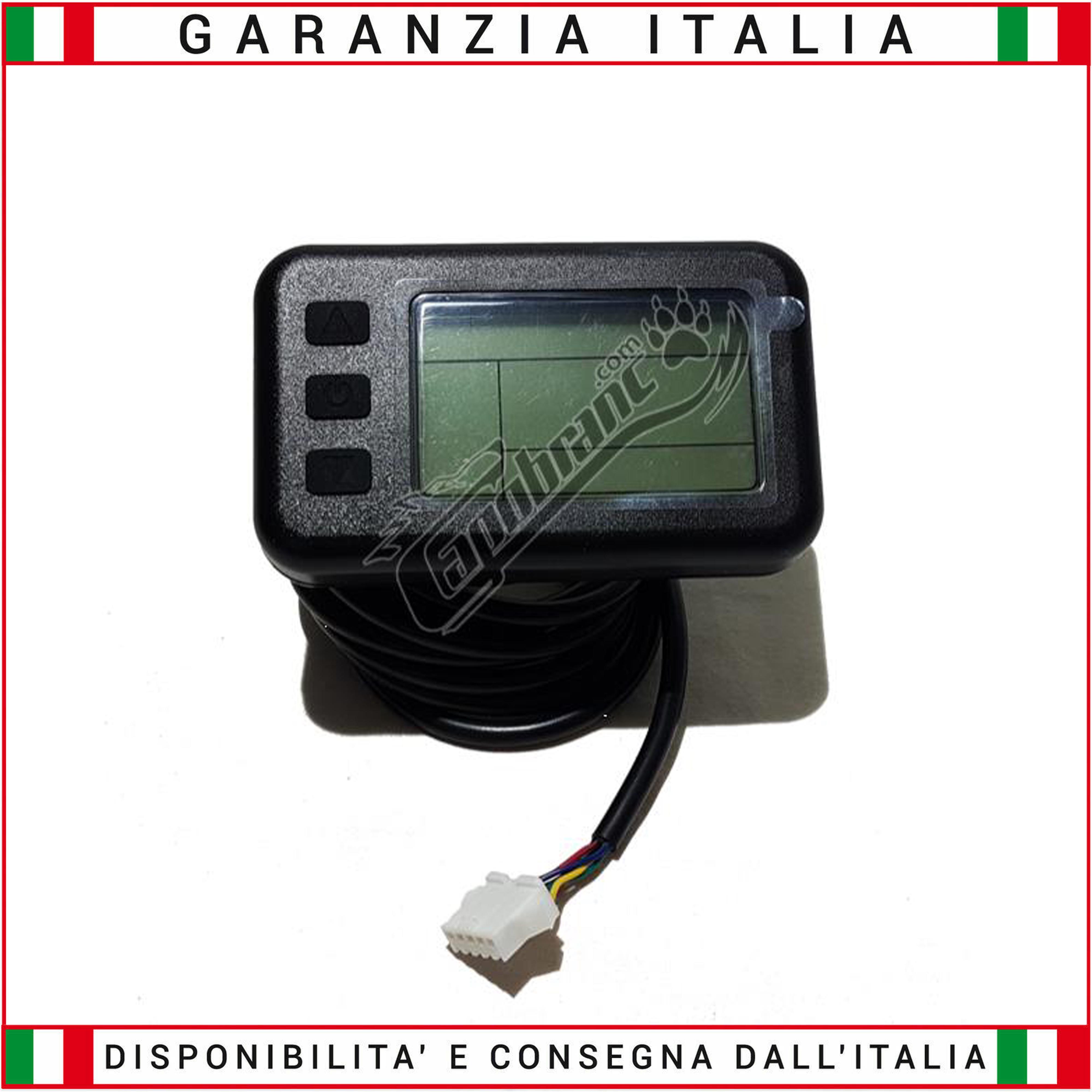 LCD1 36//48 Volt Display standard connection KT