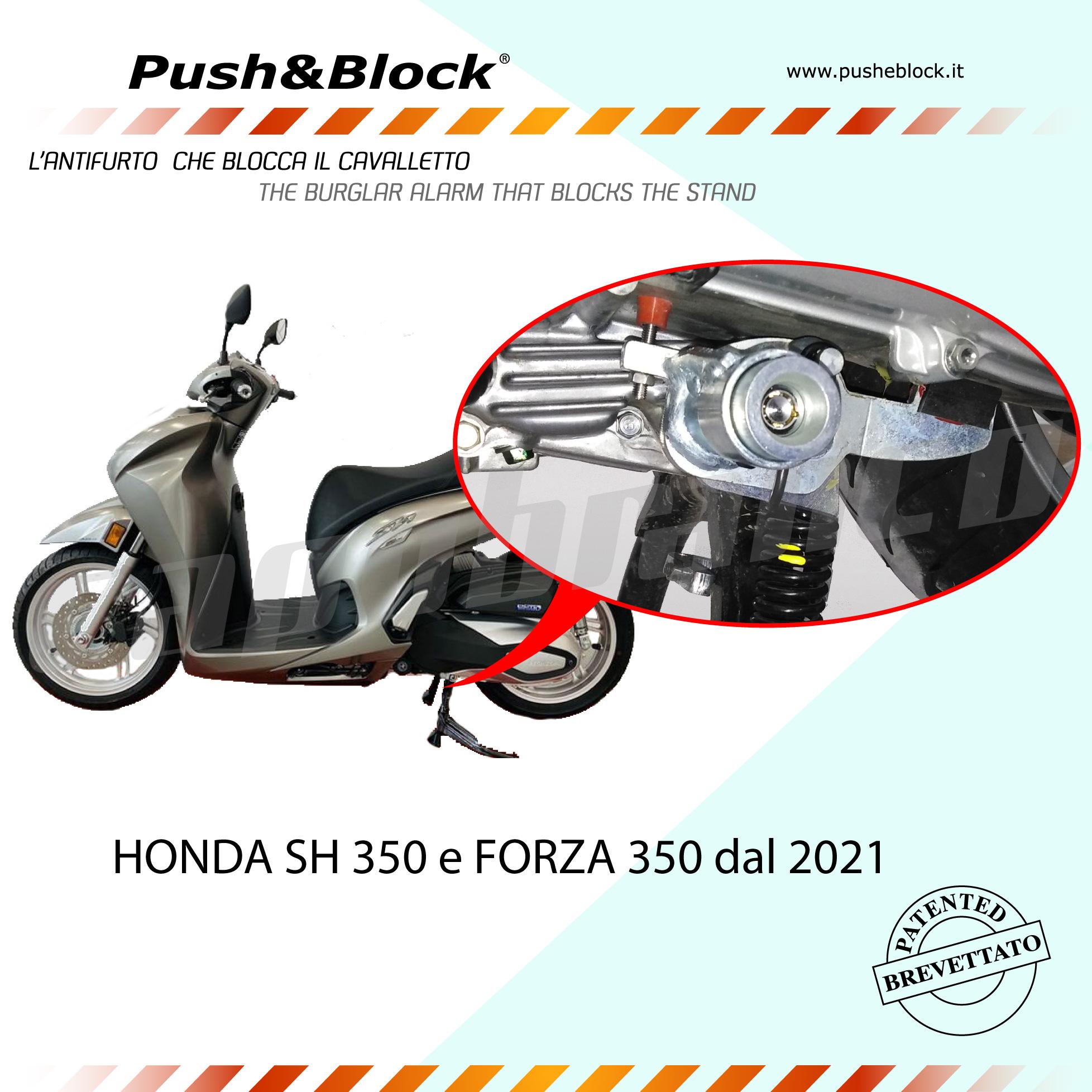 Push&Block L'Antifurto Blocca Cavalletto