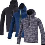 ALPINESTARS SPARK SOFT SHELL MOTORCYCLE SWEATSHIRT JACKET