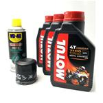 Motorbike engine oil-chain lubricant-oil filter overhaul kit