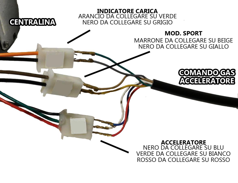 Schema Elettrico Regolatore Per Motori Brushless : Ricambi monopattino elettrico centralina w v per